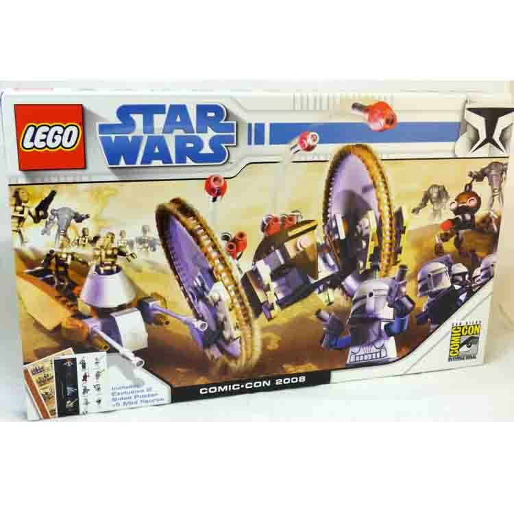 LEGO Star Wars Sets: 2008 San Diego Comic Con Exclusive Clone Wars Pack NEW