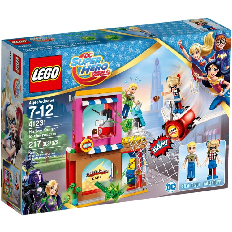 LEGO Super Hero Girls Sets: DC Comics 41231 Harley Quinn to the Rescue NEW *Damaged Box*