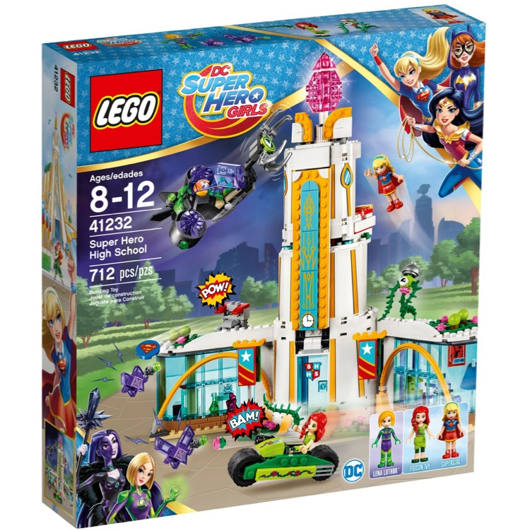 LEGO Super Hero Girls Sets: DC Comics 41232 Super Hero High School NEW