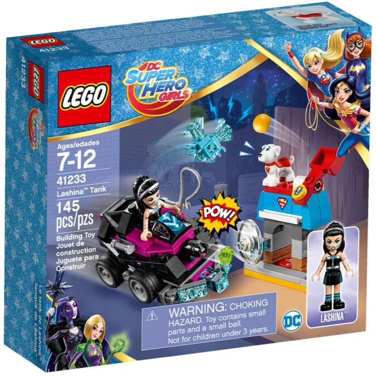 LEGO Super Hero Girls Sets: DC Comics 41233 Lashina Tank NEW