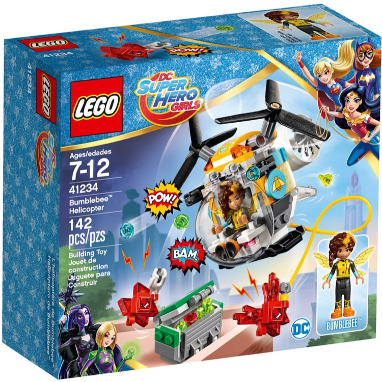 LEGO Super Hero Girls Sets: DC Comics 41234 Bumblebee Helicopter NEW