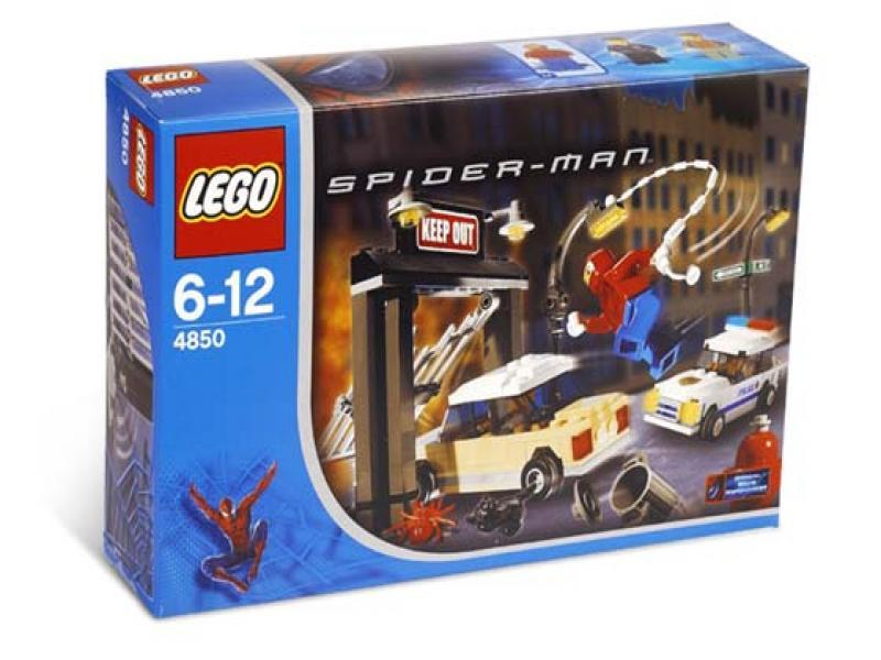 LEGO Super Heroes Sets: LEGO Spider-Man 4850 Spider-Man's First Chase NEW