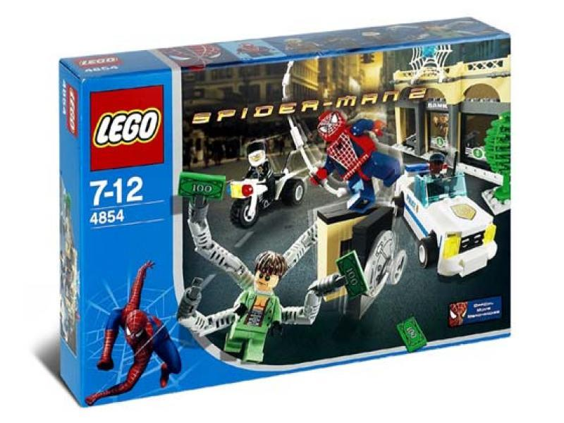 LEGO Super Heroes Sets: LEGO Spider-Man 2 4854 Doc Ock's Bank Robbery NEW