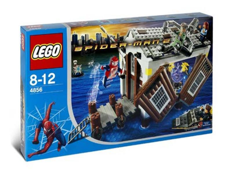 LEGO Super Heroes Sets: LEGO Spider-Man 2 4856 Doc Ock's Hideout NEW