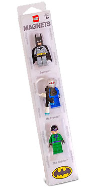 LEGO Super Heroes Sets: LEGO Batman 852089 Batman, Mr. Freeze, and The Riddler Minifigure Magnets NEWLEGO Super Heroes Sets: LEGO Batman 852089 Batman, Mr. Freeze, and The Riddler Minifigure Magnets NEW