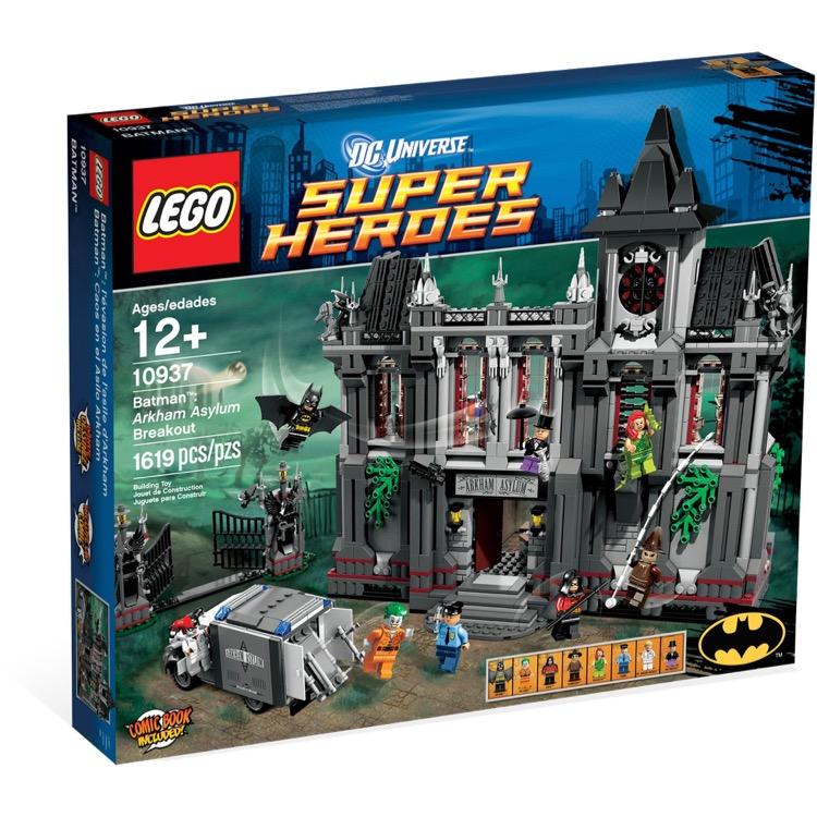 LEGO Super Heroes Sets: DC Comics 10937 Arkham Asylum Breakout NEW