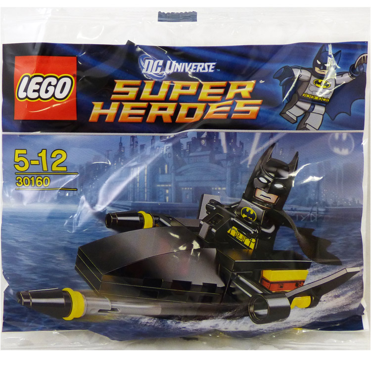 LEGO Super Heroes Sets: DC Comics 30160 Batman Jetski NEW