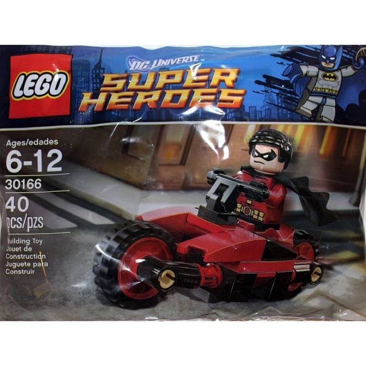 Super Comics New Heroes Redbird Lego SetsDc Robin And 30166 Cycle dCBoxe