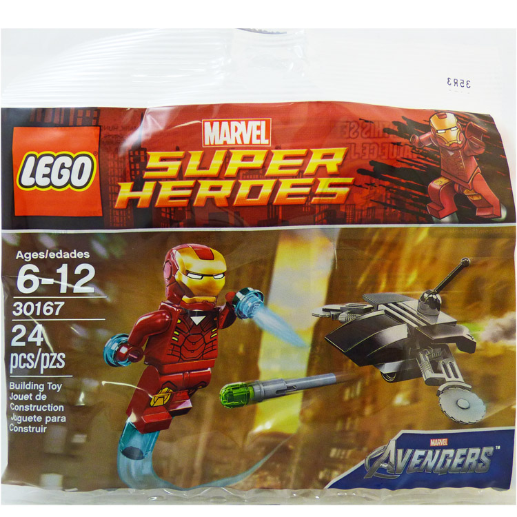 LEGO Super Heroes Sets: Marvel 30167 Iron Man vs Fighting Drone NEW (SOLD OUT)
