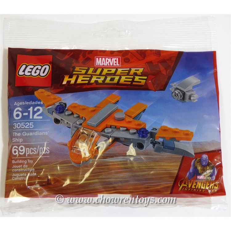 LEGO Super Heroes Sets: Marvel 30525 The Guardians' Ship NEW