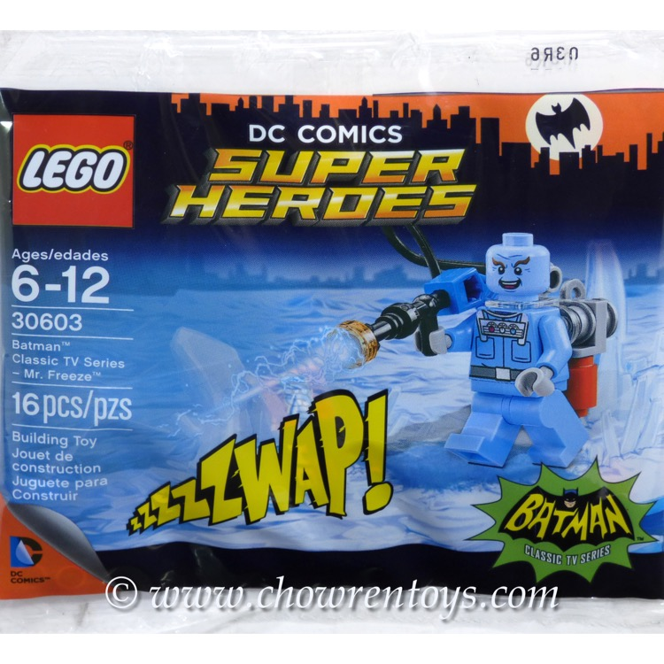 LEGO Super Heroes Sets: DC Comics 30603 Batman Classic TV Series - Mr. Freeze NEW