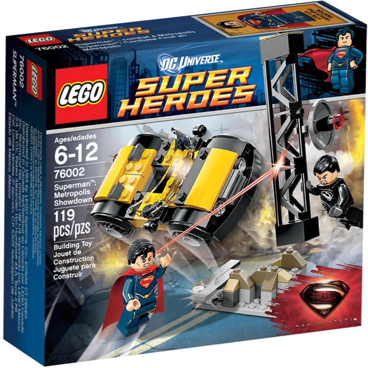LEGO Super Heroes Sets: DC Comics 76002 Superman: Metropolis Showdown NEW