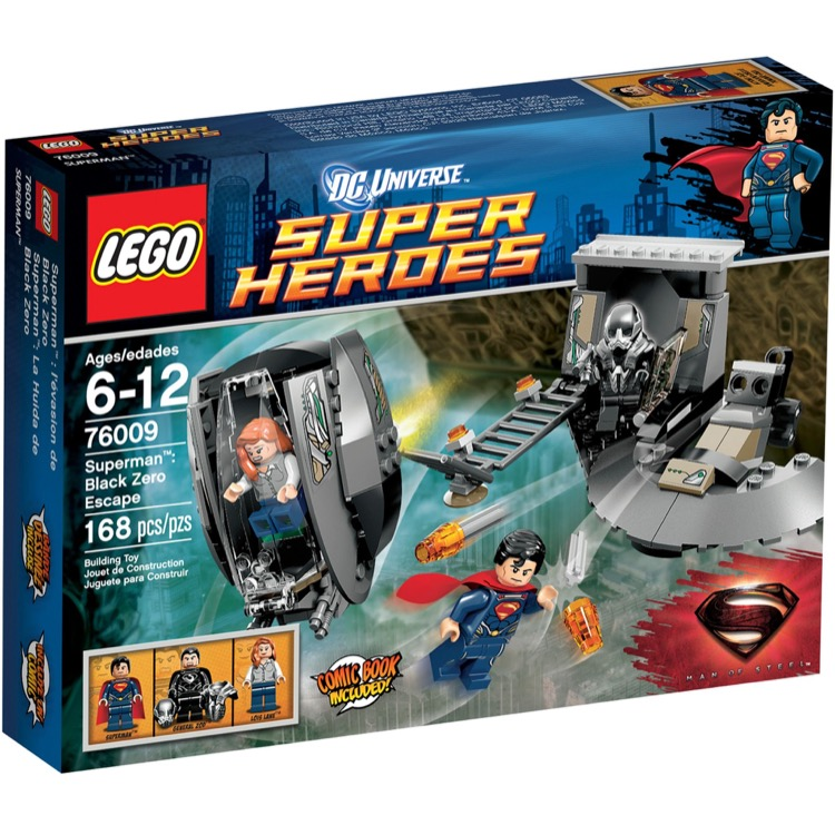 LEGO Super Heroes Sets: DC Comics 76009 Superman: Black Zero Escape NEW