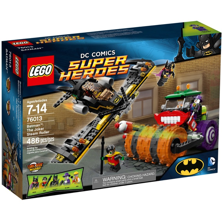 LEGO Super Heroes Sets: DC Comics 76013 Batman: The Joker Steam Roller NEW