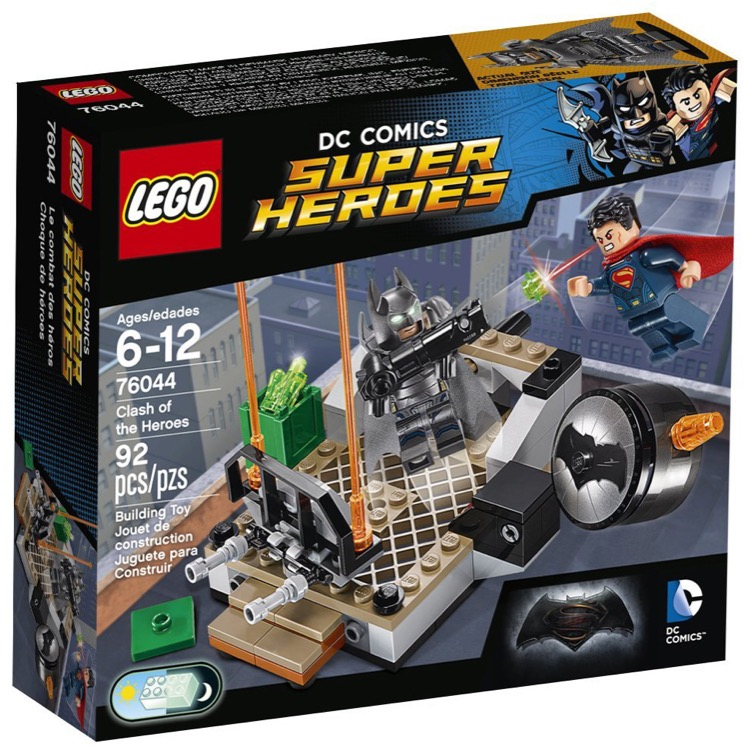 LEGO Super Heroes Sets: DC Comics 76044 Clash of the Heroes NEW