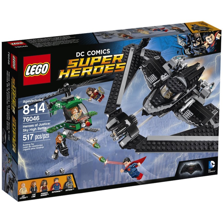 LEGO Super Heroes Sets: DC Comics 76046 Heroes of Justice: Sky High Battle NEW