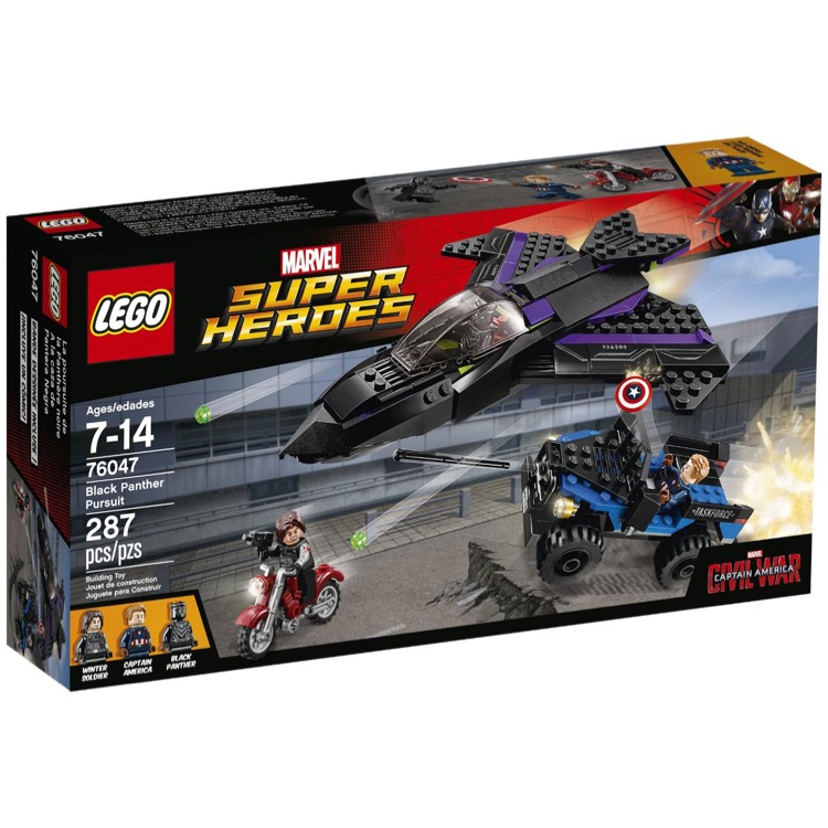 LEGO Super Heroes Sets: Marvel 76047 Black Panther Pursuit NEW