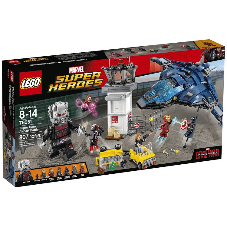LEGO Super Heroes Sets: Marvel 76051 Super Hero Airport Battle NEW
