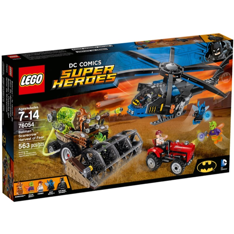 LEGO Super Heroes Sets: DC Comics 76054 Scarecrow's Harvest of Fear NEW
