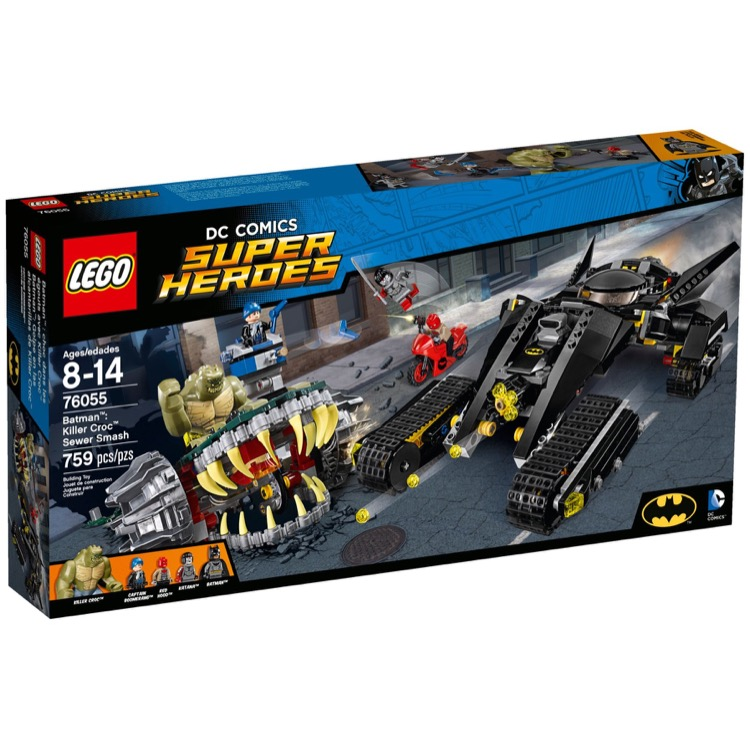 LEGO Super Heroes Sets: DC Comics 76055 Killer Croc's Sewer Smash NEW