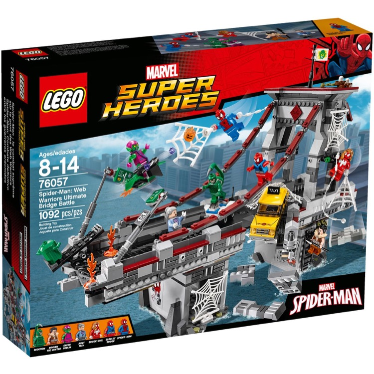 LEGO Super Heroes Sets: Marvel 76057 Spider-Man: Web Warriors Ultimate Bridge Battle NEW