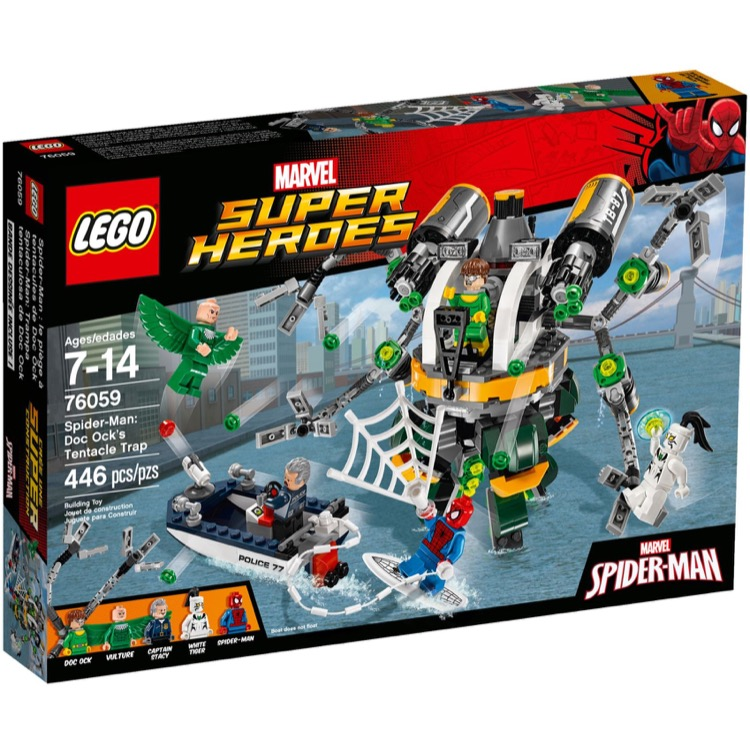 LEGO Super Heroes Sets: Marvel 76059 Doc Ock's Tentacle Trap NEW