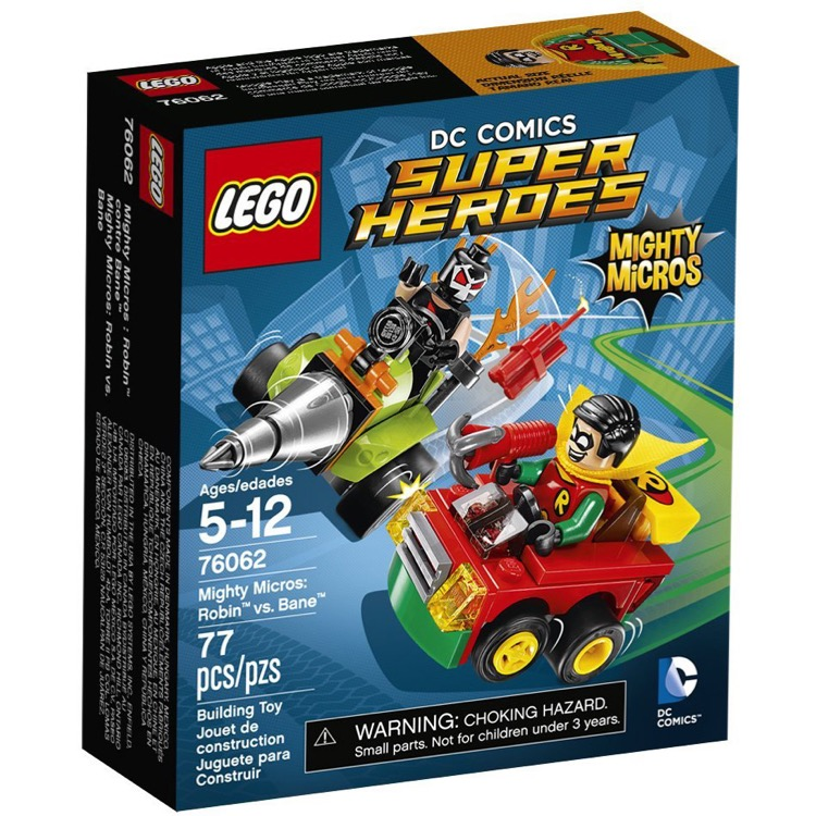 LEGO Super Heroes Sets: DC Comics 76062 Mighty Micros: Robin vs. Bane NEW