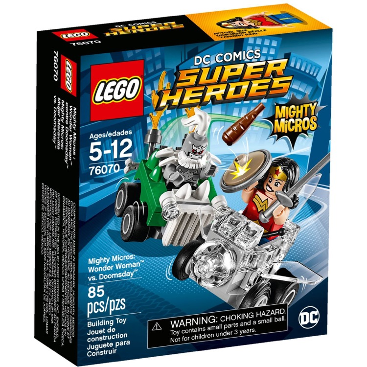 LEGO Super Heroes Sets: DC Comics 76070 Mighty Micros: Wonder Woman vs. Doomsday NEW