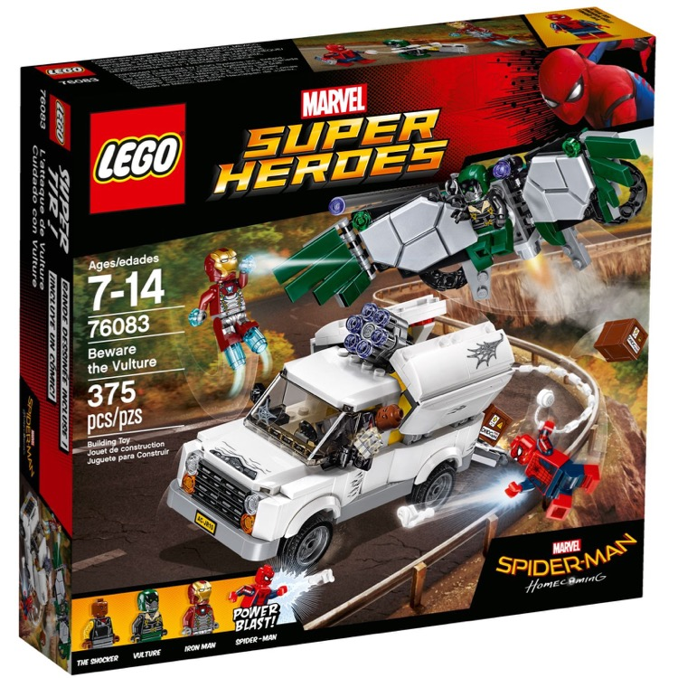 LEGO Super Heroes Sets: Marvel 76083 Beware the Vulture NEW