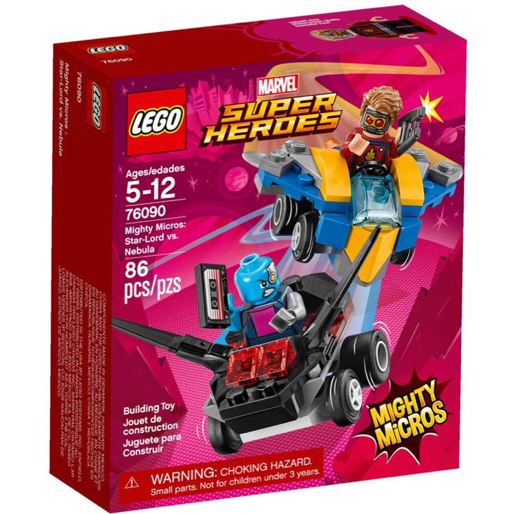 LEGO Super Heroes Sets: Marvel 76090 Mighty Micros: Star-Lord vs. Nebula NEW