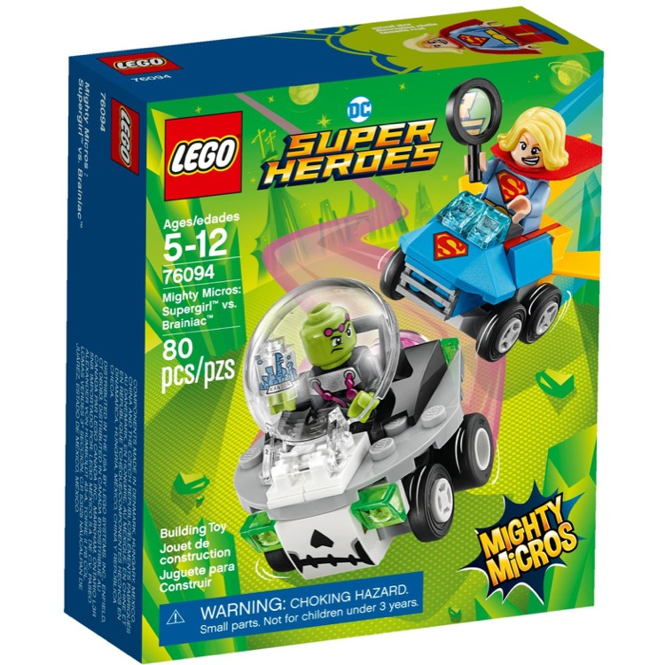 LEGO Super Heroes Sets: DC Comics 76094 Mighty Micros: Supergirl vs. Brainiac NEW