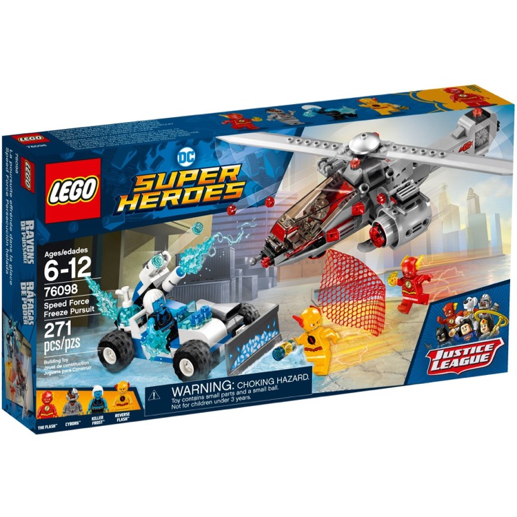 LEGO Super Heroes Sets: DC Comics 76098 Speed Force Freeze Pursuit NEW