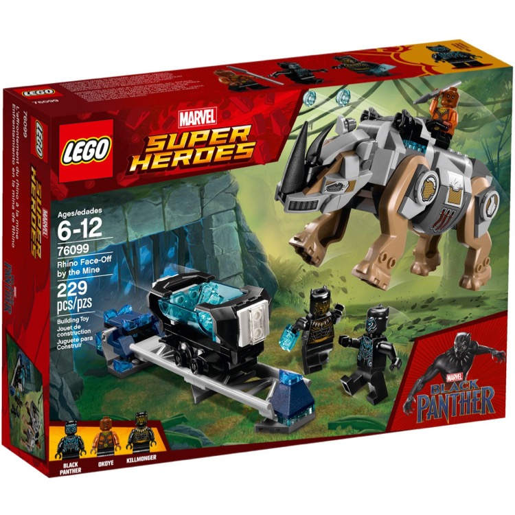 LEGO Super Heroes Sets: Marvel 76099 Rhino Face-Off by the Mine NEW