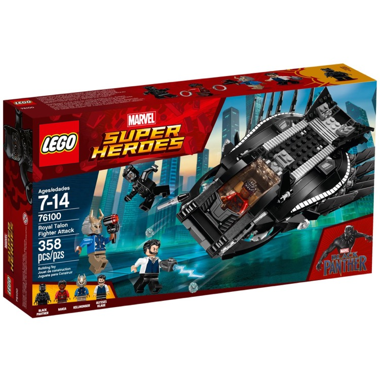 LEGO Super Heroes Sets: Marvel 76100 Royal Talon Fighter Attack NEW