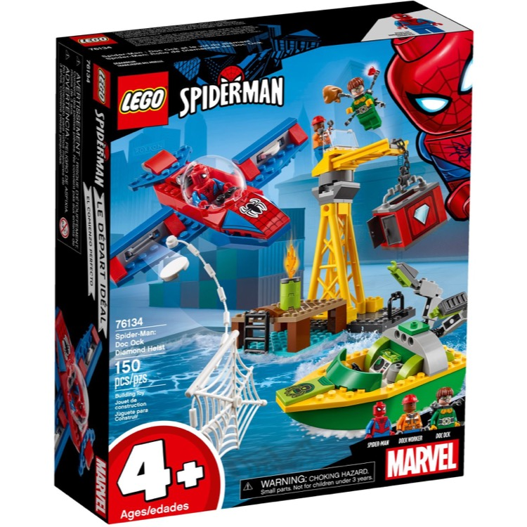 LEGO Super Heroes Sets: 76134 Marvel Spider-Man: Doc Ock Diamond Heist NEW