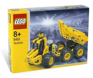LEGO TECHNIC Sets: 8451 Dumper NEW
