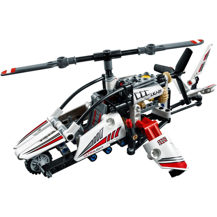 lego technic sets 42057 ultralight helicopter new. Black Bedroom Furniture Sets. Home Design Ideas