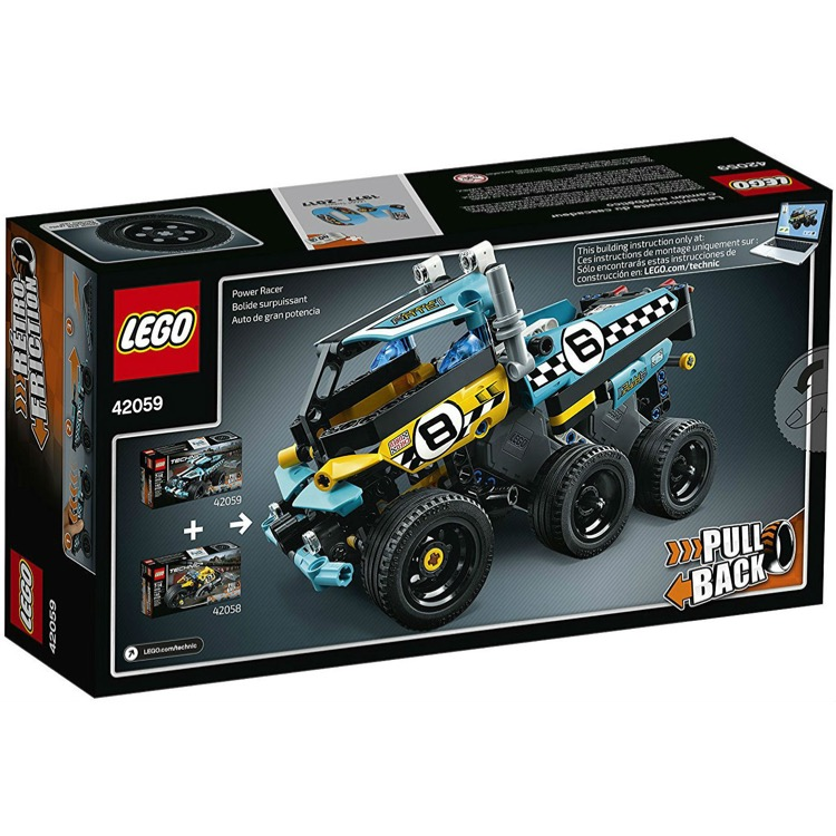 Lego Technic Sets 42059 Stunt Truck New