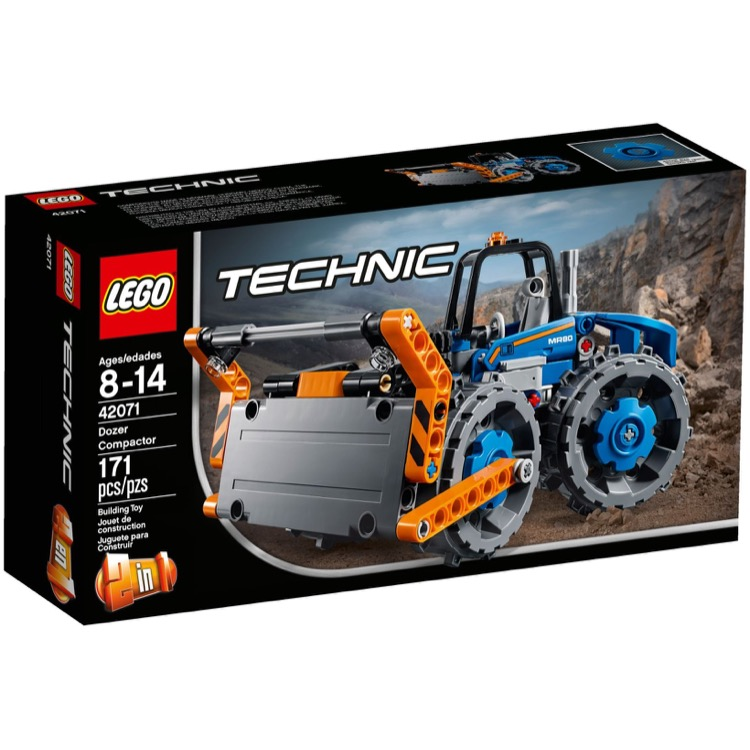 lego technic sets 42071 dozer compactor new. Black Bedroom Furniture Sets. Home Design Ideas