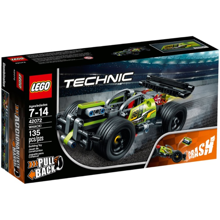 LEGO Technic Sets: 42072 WHACK! NEW
