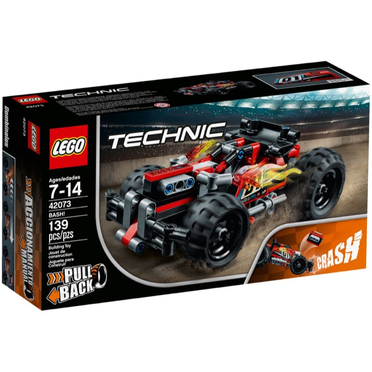 LEGO Technic Sets: 42073 BASH! NEW