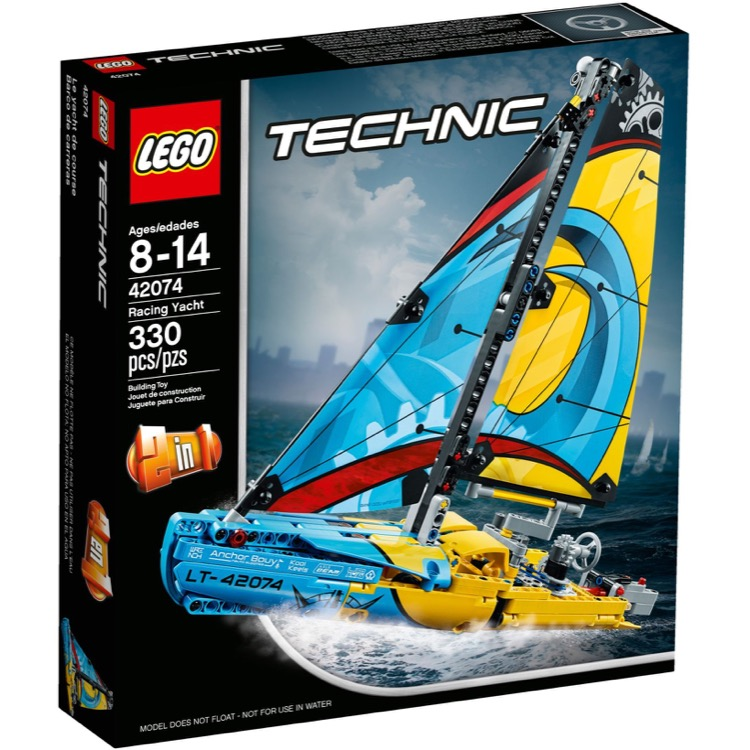 LEGO Technic Sets: 42074 Racing Yacht NEW