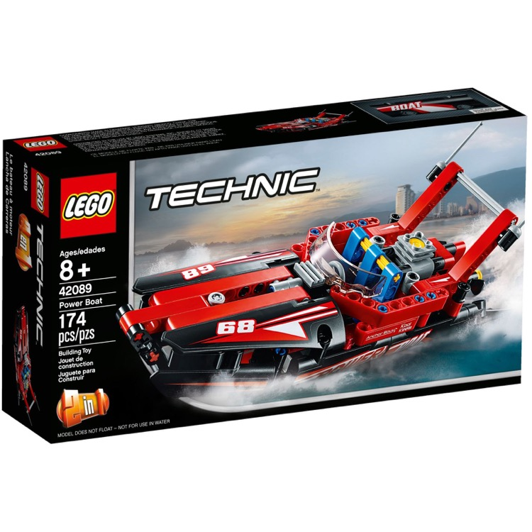 LEGO Technic Sets: 42089 Power Boat NEW