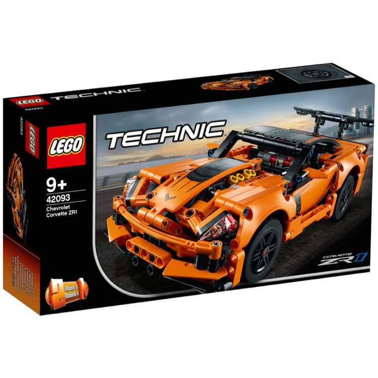 LEGO Technic Sets: 42093 Chevrolet Corvette ZR1 NEW