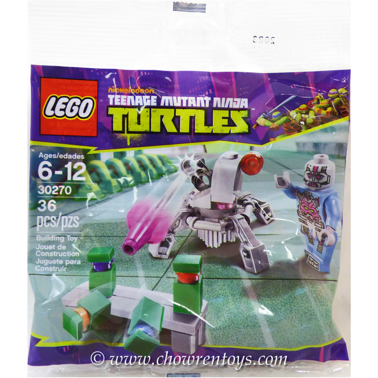 LEGO Teenage Mutant Ninja Turtle Sets: 30270 Kraang's Turtle Target Practice NEW