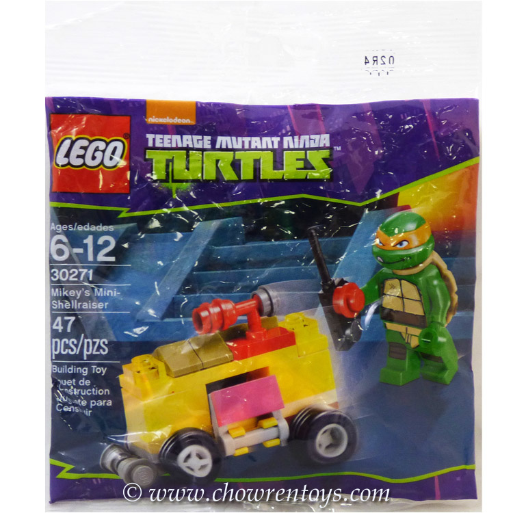 LEGO Teenage Mutant Ninja Turtle Sets: 30271 Mikey's Mini-Shellraiser NEW