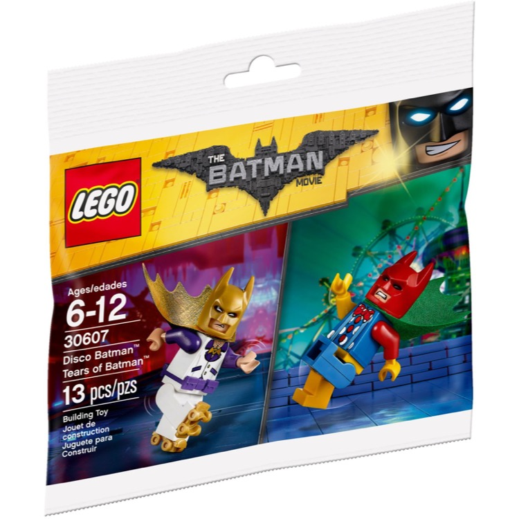 LEGO The LEGO Batman Movie Sets: 30607 Disco Batman - Tears of Batman NEW