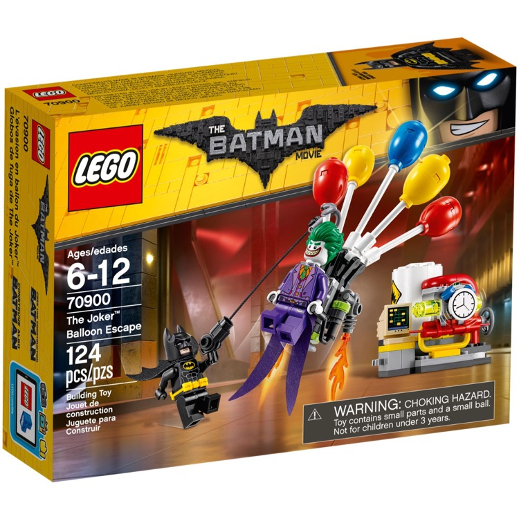 LEGO The LEGO Batman Movie Sets: 70900 The Joker Balloon Escape NEW