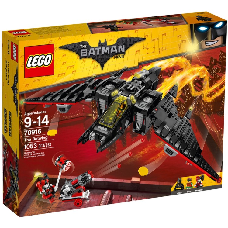 LEGO The LEGO Batman Movie Sets: 70916 The Batwing NEW