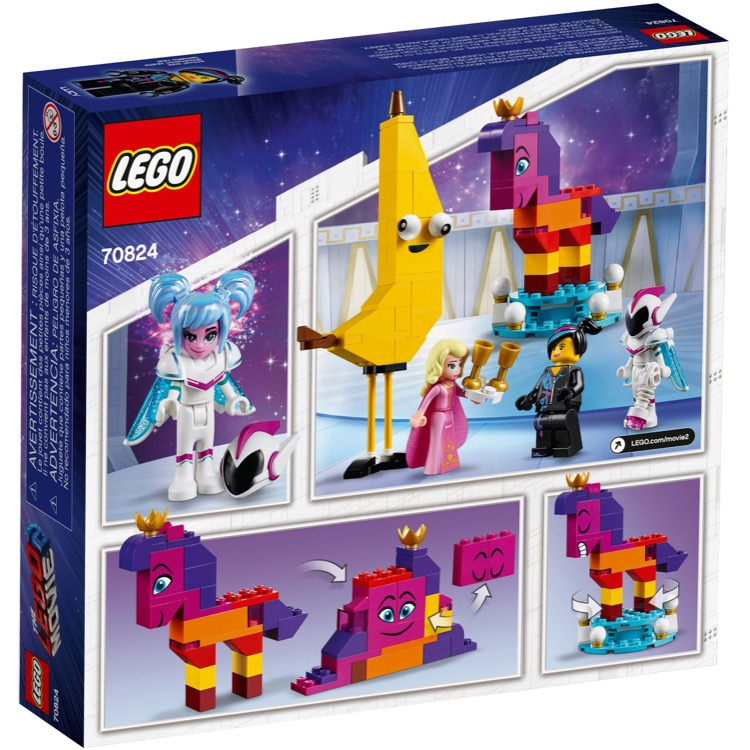 Lego The Lego Movie Sets 70824 The Lego Movie 2 Introducing Queen